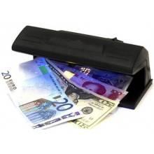 Lampada raggi UV WOOD controllo rilevatore anti contraffazione banconote tester