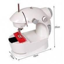 Mini macchina per cucire 4 in 1 portatile viaggio cucitrice pedale rocchetti