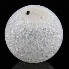 Lampada sfera RGB con 7 colori LED da tavolo palla multicolore notturna crystal