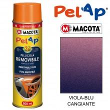 Bomboletta MACOTA spray vari colori PelAp pellicola rimovibile Vernice auto moto