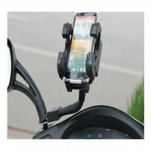 Supporto porta cellulare moto scooter vespa su specchio specchietto regolabile