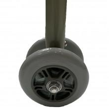 Deambulatore per anziani regolabile ruote punte antiscivolo camminare alluminio