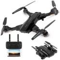 Drone radiocomandato 4 eliche telecamera video foto HD WIFI led app TK117-1