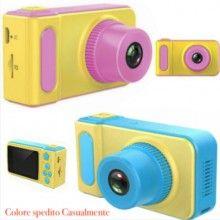 Macchina fotografica gommata bambino bambina camera foto video fotocamera baby