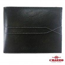 Portafoglio uomo NERO carte credito CHARRO banconote antifurto 941292 sicuro