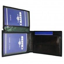 Portafoglio NERO carte di credito portamonete banconote documenti 1835250 CHARRO