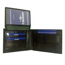 Portafoglio NERO carte di credito portamonete banconote documenti 1838292 CHARRO