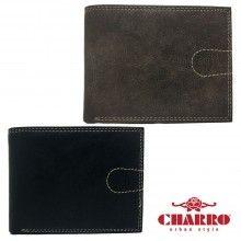 Portafoglio uomo carte di credito CHARRO banconote 942270 soldi antifurto colori