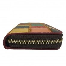 Portafoglio DONNA 1112-2 porta documenti tessere carte credito monete MAI MAX