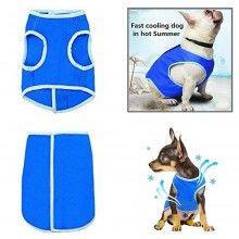 Maglietta rinfrescante Cani refrigerante S M L acqua pettorina fresco caldo PVA