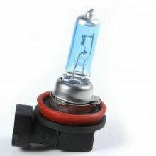 Coppia lampade lampadine Alogene auto H11 12V 100W colore luce BIANCA fari HID