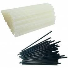 6 confezioni stick colla a caldo 7,2 11 mm trasparente bricolage fai da te nero