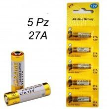 Set pila batterie batteria 27A 27 A LR27A MN27 G27A 12V RICAMBIO TELECOMANDO