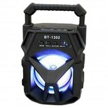 Cassa bluetooth con radio portatile USB AUX TF CARD speaker smartphone luce LED