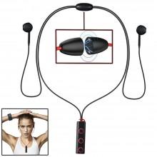 Cuffiette auricolari bluetooth wireless BT MIC cuffie sport XT-13 MP3 corsa