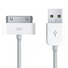 Cavo sincronizzazione e ricarica dati USB compatibile Apple iPhone 3GS 3 4, iPhone 4 S, 4s, iPod Touch - Compatibile iOS 8