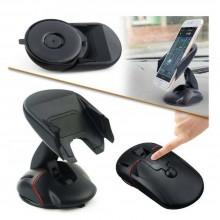 Portacellulare supporto smartphone auto ventosa cruscotto parabrezza stile MOUSE