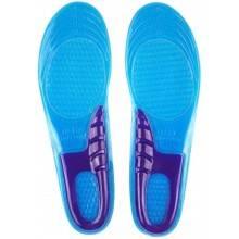Coppia solette in gel ritagliabili dal 38 al 43 plantari per ridurre lo stress su piedi e caviglie