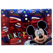 Kit scuola asilo Bambino set accessori Cars Topolino Disney bambini 10 pezzi