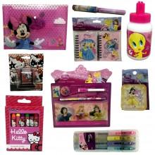Kit scuola asilo Bambina set accessori Principesse Disney hello kitty 12 pezzi