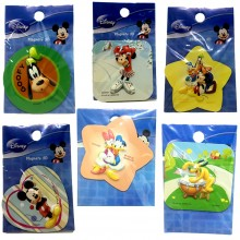 Magneti 3D adesivi bambina bambino personaggi Disney cartoon frigo collection