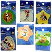 Magneti 3D adesivi bambina bambino personaggi Disney cartoon frigo collection