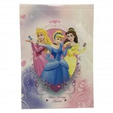 2x Diari per colorare per Bambine Principesse Disney piccolo libro scuola