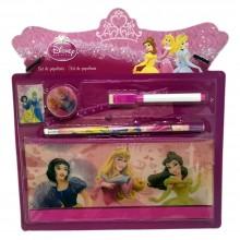 Kit scuola Completo Bambina bambini Disney Principesse set cancelleria a tema