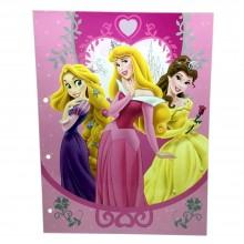 Cartellina porta Fogli Disney Principesse per bambini scuola porta disegni casa