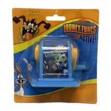 2x Temperino Bambini Looney tunes scuola bugs bunny manuale matita astuccio