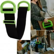 Cinghia sollevamento porta oggetti pesanti manuale manici corda traslochi mobili