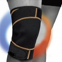 NEW Fascia tutore Ginocchio gel effetto caldo freddo sport dolori supporto