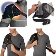 NEW Fascia tutore SPALLA gel effetto caldo freddo sport dolori supporto