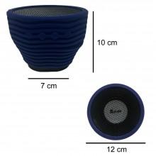 Cassa speaker A9 portatile bluetooth PC TF USB AUX gommata musica smartphone