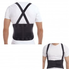 Fascia elastica schiena posturale bretelle lombare supporto reni tutore 20653