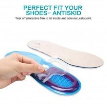 2 Solette gel Memory Foam scarpe uomo plantare silicone supporto massaggianti