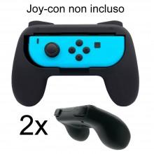 2x Controller grip ergonomici Joy- con Nintendo Switch console giochi controllo