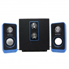 Casse audio PC stereo multimedia sistema altoparlanti JD103 computer musica