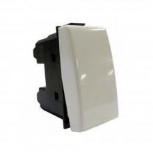 Interruttore 1P plastica bianco presa muro C2200 127/250V compatibile matix 16ax