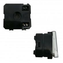 Modulo portanome C2209 compatibile BTicino matix bianco nome targhetta 250V