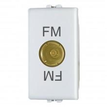 Modulo TV passante femmina C2215 compatibile BTicino matix bianco segnale TV
