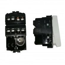 Modulo invertitore 16A C2202 compatibile BTicino matix interruttore basculante