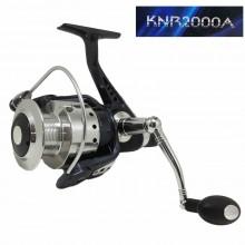 Mulinello pesca KNR2000A 3 cuscinetti sfera frizione mare lago trota bolognese