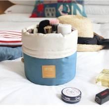 Donna Borsa porta cosmetici trucco case da viaggio borsello organizzatore makeup