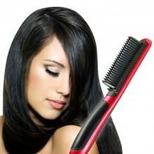 Spazzola elettrica ionica snoda liscia pettine capelli piastra temperatura 29W
