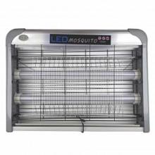 Zanzariera elettrica 2W anti zanzare mosche moscerini insetti UV mosquito trap