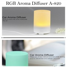 Diffusore aromi RGB 300ml aromaterapia cromoterapia ultrasuoni A-820 deumidifica