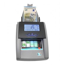 Rilevatore banconote false verifica conta controlla soldi valuta EURO UV MG IR