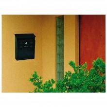 Cassetta postale per posta modello artistico casa appartamento ferro antracite