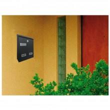 Cassetta postale per posta modello moderno ferro antracite casa appartamento